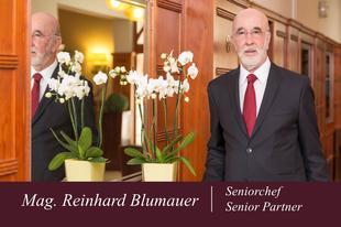 Mag. Reinhard Blumauer | Seniorchef | Austria Classic Hotel Wien