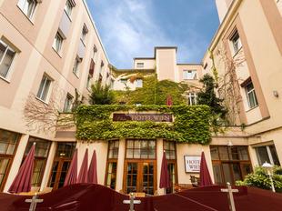 Die Terrasse des Austria Classic Hotel Wien