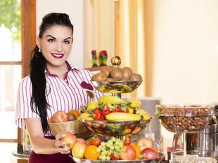 Reichhaltiges Frühstück im Austria Classic Hotel Wien