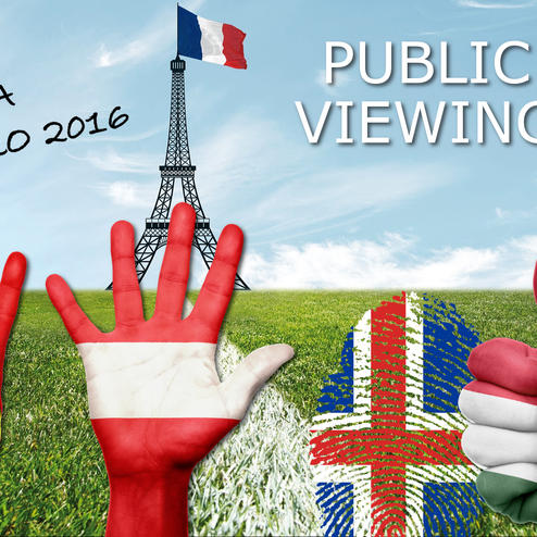 EURO 2016 Public Viewing & more