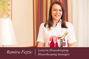 Ramira Fejzic | Housekeeping/F&B-Managerin | Austria Classic Hotel Wien