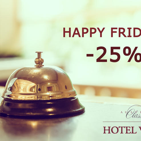 Aktion: Happy Friday -25%