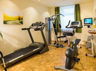 Der Fitnessraum im Austria Classic Hotel Wien