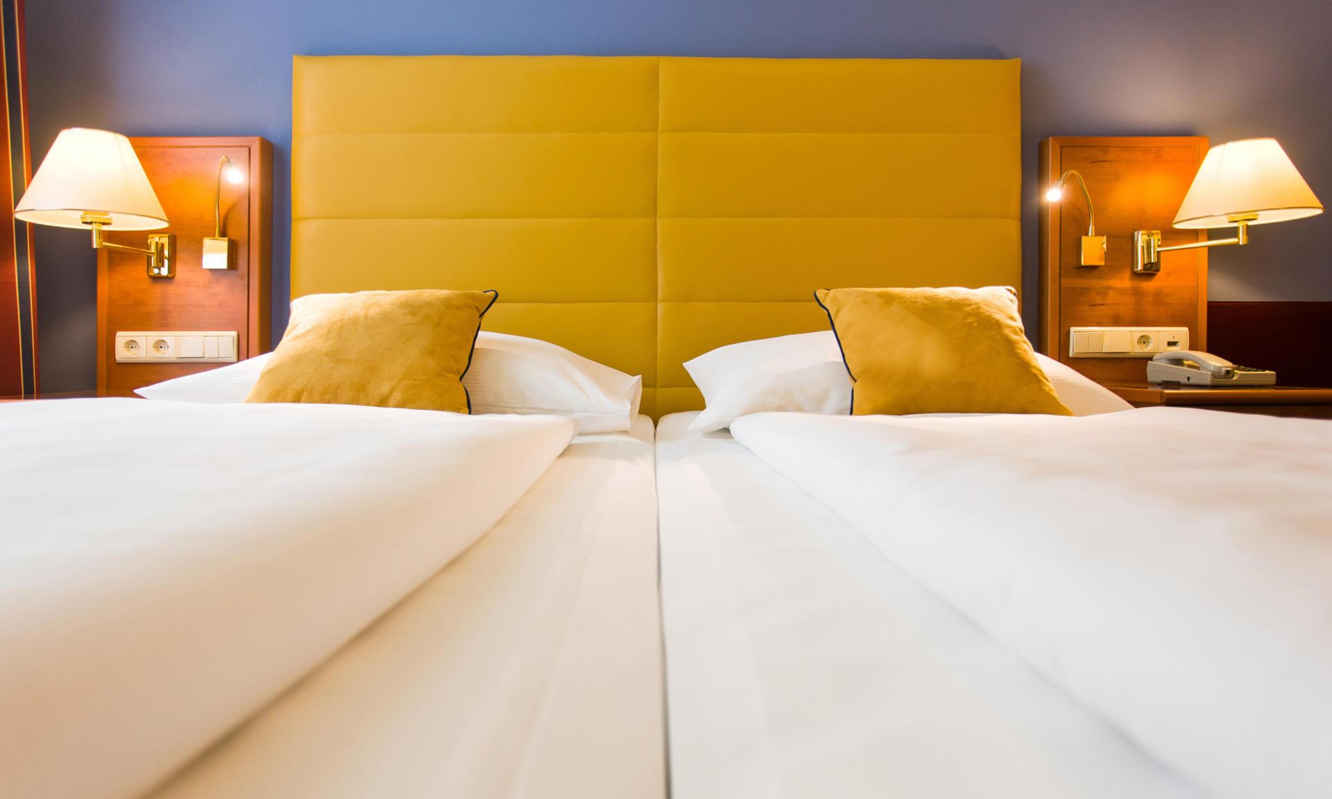 Neu eingerichtetes Doppelzimmer Comfort