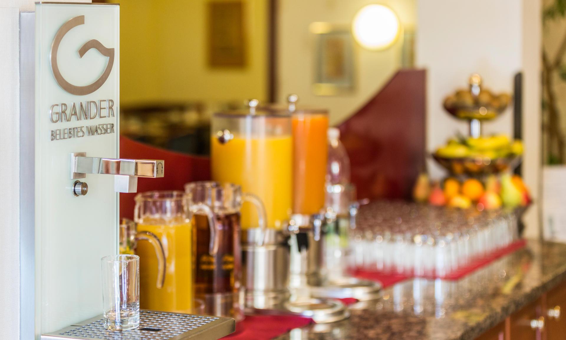 Frühstück im Classic Hotel Wien