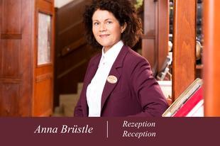 Anna Brüstl | Rezeption | Austria Classic Hotel Wien