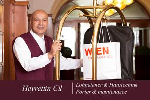 Hayrettin Cil | Lohndiener & Haustechnik | Austria Classic Hotel Wien
