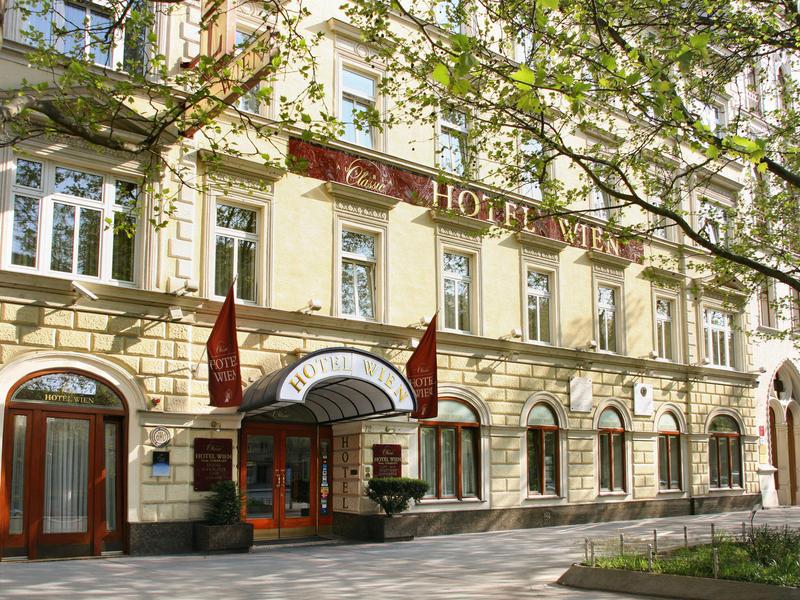 Hotel Wien Zentrum Mit Parkplatz